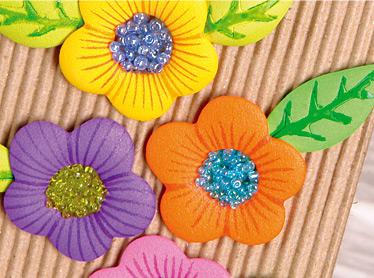 De Las Flores Con Chaquiras Peque  As  O Se Observa En La Foto