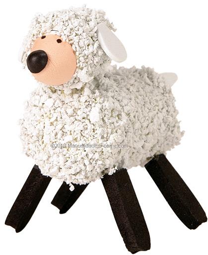 Ovelhas Foamy