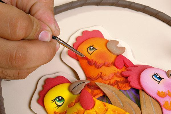 Moldes de gallina en fomis gratis imagui - Pinturas para goma eva ...