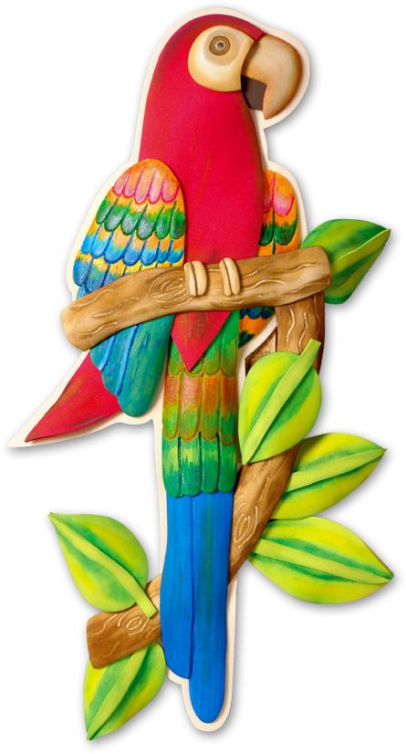 Papagayo en foamy goma eva - Pinturas para goma eva ...
