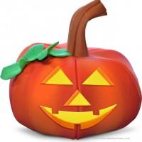 Calabaza Halloween en Foamy Goma Eva