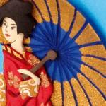 Tarjeta Japonesa en Foamy Goma Eva