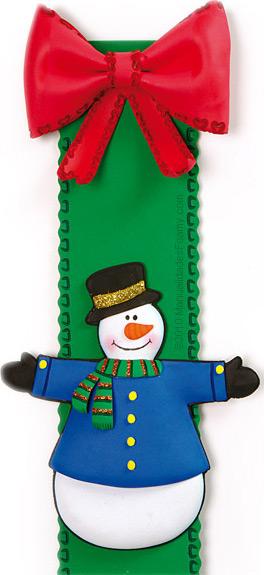 Muñeco de Nieve en Tira Navidad
