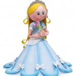 Princesa Azul En Foamy Goma Eva