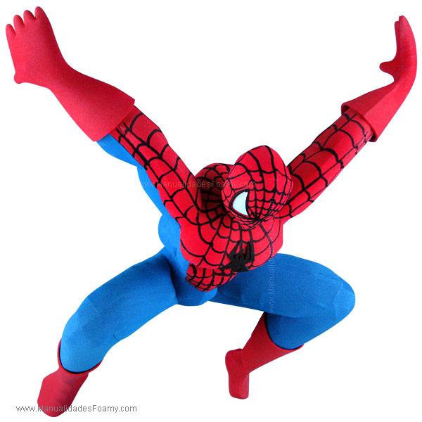 Spiderman en Foamy Goma Eva